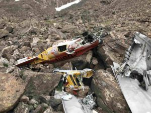 N160JN plane wreckage