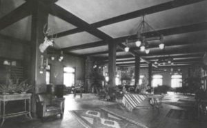 main troutdale lobby, circa 1920s