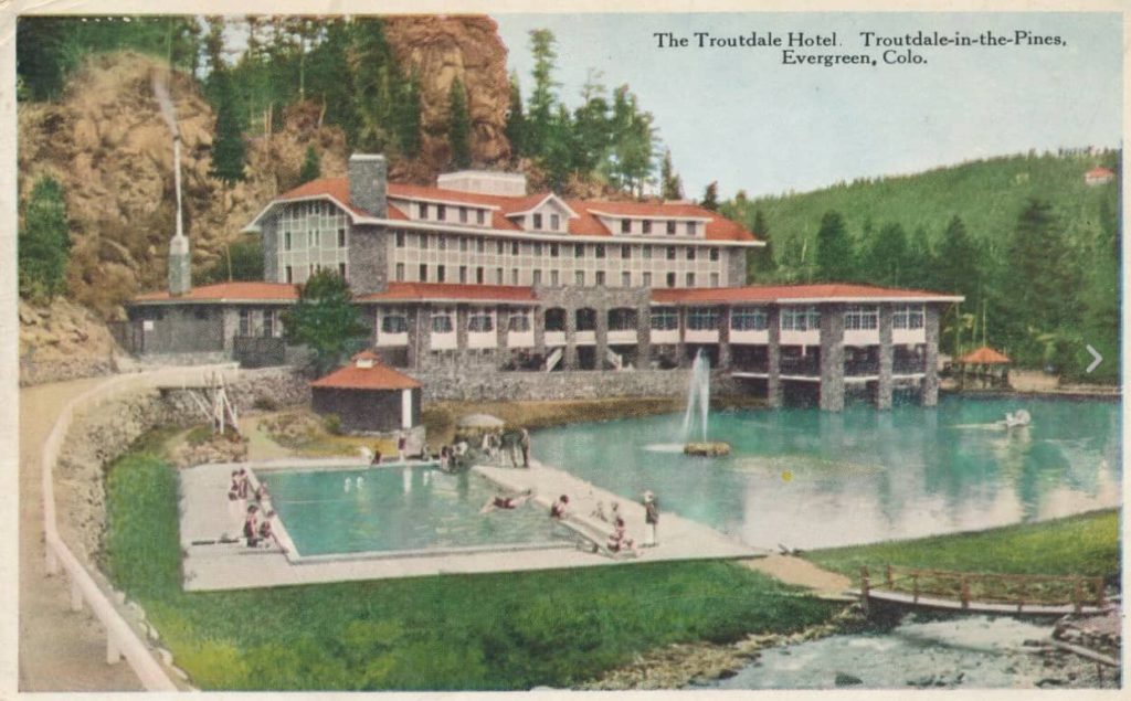 Troutdale postcard